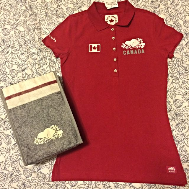 🌺Roots 加拿大款Polo衫(附小環保袋)