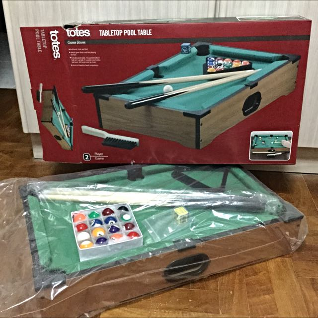 Totes Tabletop Pool Table ...