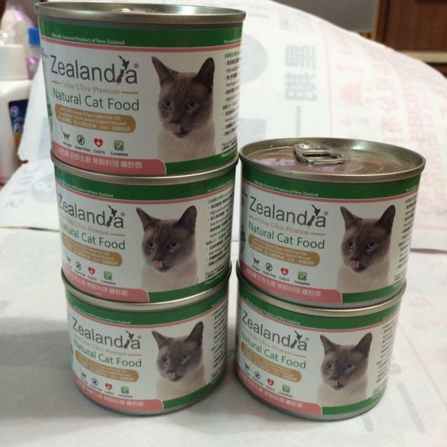 紐西蘭Zealandia狂野主廚 無穀料理 貓主食罐
