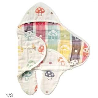全新日本Hoppetta🍄蘑菇包巾(含運)