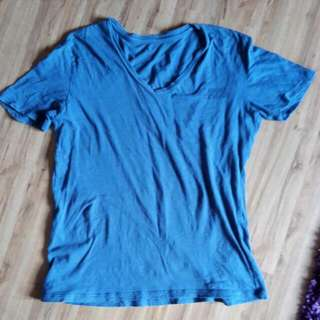 Armani Exchange Blue Tshirt