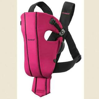 *Reduced* Baby Bjorn Carrier Pink