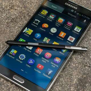 Samsung Galaxy Note 3 Black With Box And Charger
