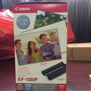 Canon : Compact Photo Printer Supplies