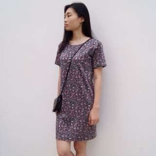 Floral Straight Dress