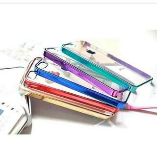 clear metal case