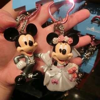 迪士尼吊飾2入