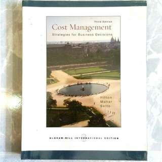 Cost Management - Strategies For Business Decisions