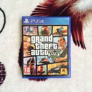 GTA V FOR PS4 ( USED )