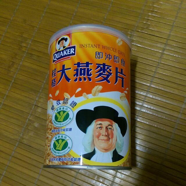 桂格大燕麥片【買就送當肯磁鐵杯墊1個】