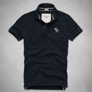 BNIB Authentic Abercrombie And Fitch AnF Flagship Mountain Polo Size S