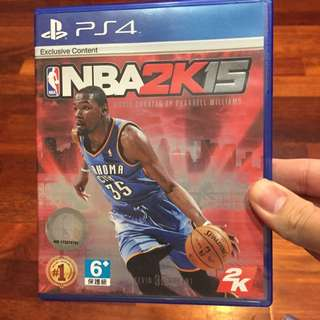 Ps4 NBA2K15 可換片