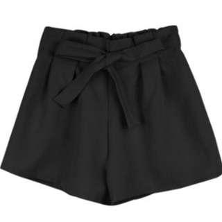 打折腰綁袋西裝短褲(保留)