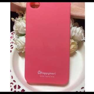 ✨全新轉賣✨ Apple I Phone 4  粉橘色軟殼手機殼