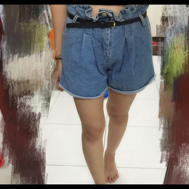 高腰短褲(M)
