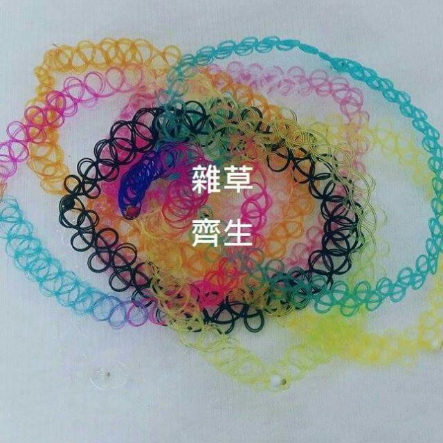 刺青頸環♡