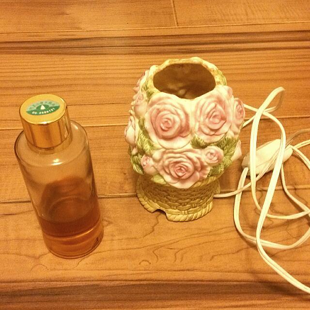 陶瓷薰香燈 送阿里山檜木精油