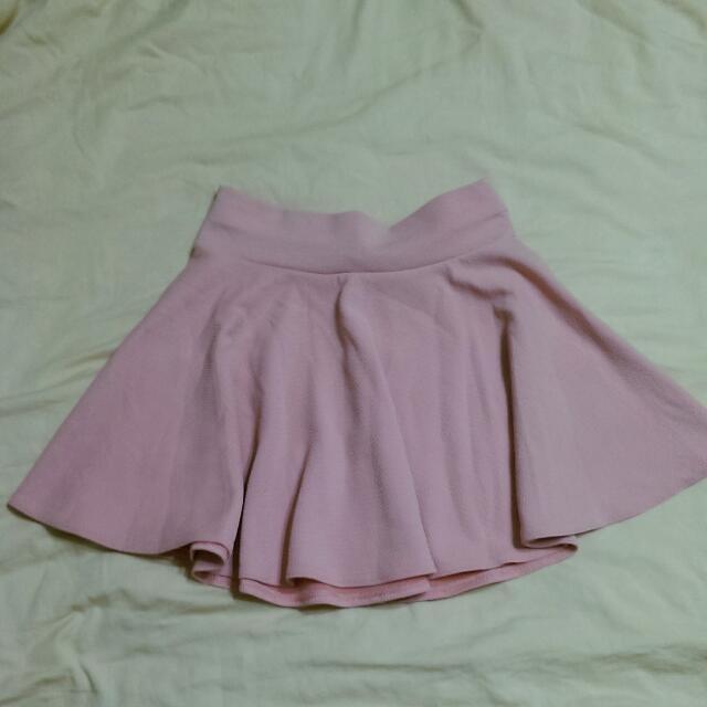 淡粉色 小圓裙