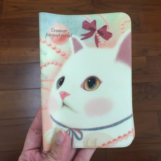 貓控 韓國 護照套