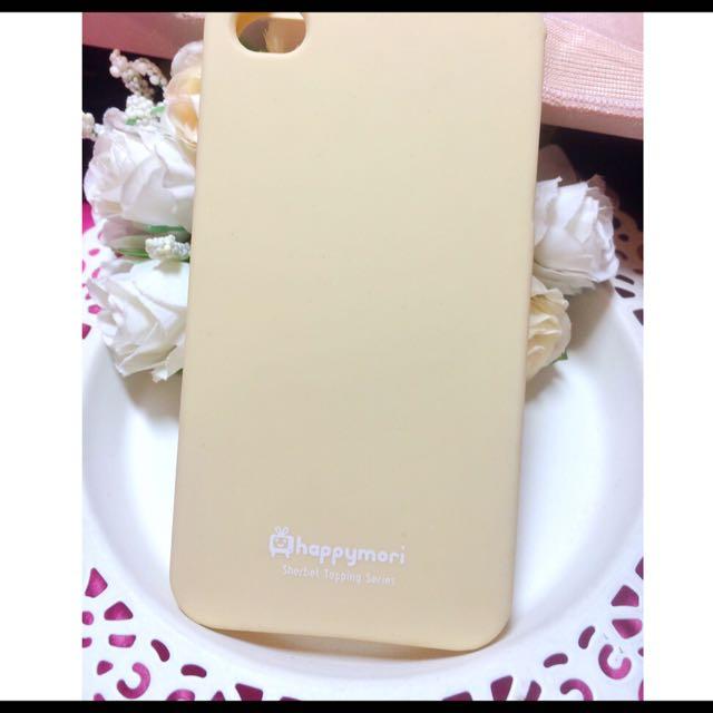 ✨全新轉賣✨ Apple I Phone 4 淡黃色軟殼手機殼