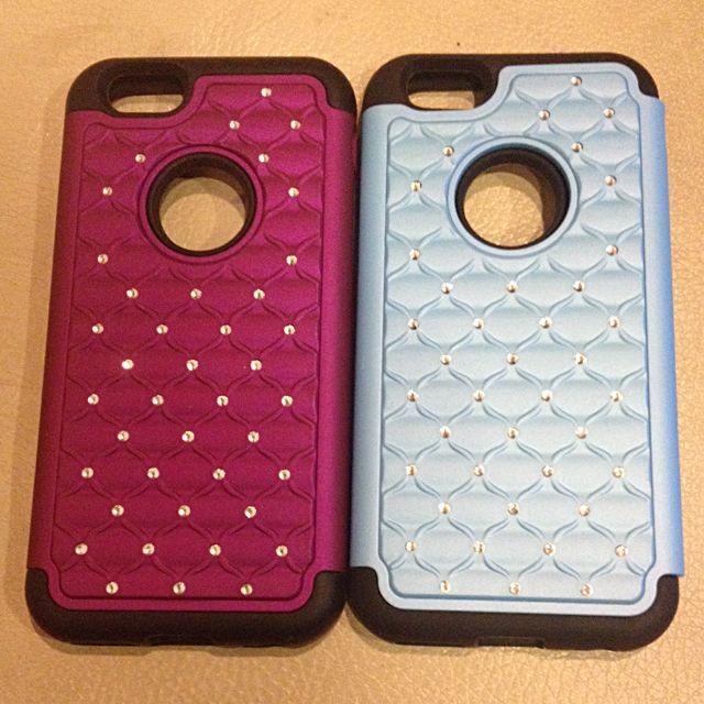 全新 I Phone6 手機殼 (剩紫色)