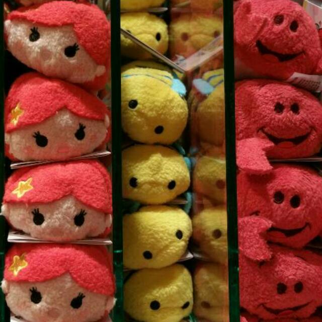 🆕迪士尼 小美人魚TSUM TSUM💟