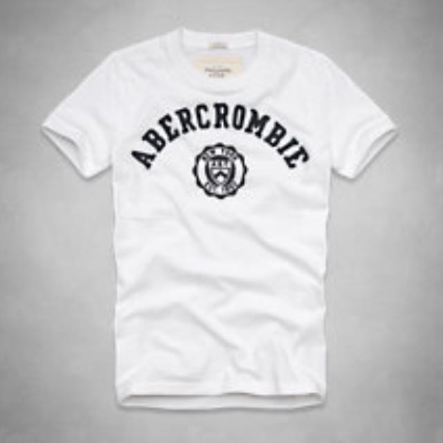 BNIB Authentic Abercrombie And Fitch Anf Jay Range Tee Size S