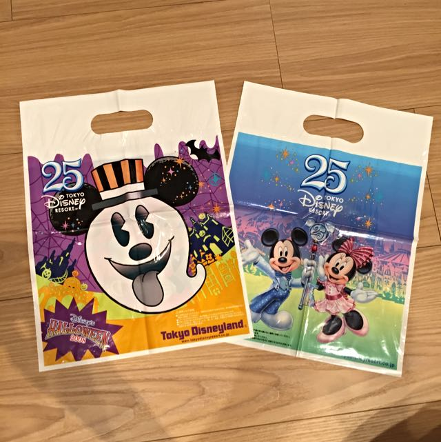 [迪士尼DISNEY] 日本25週年手提袋 值得蒐藏喔 送禮 自用