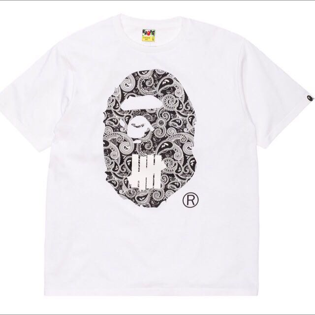 bape x undefeated t shirt