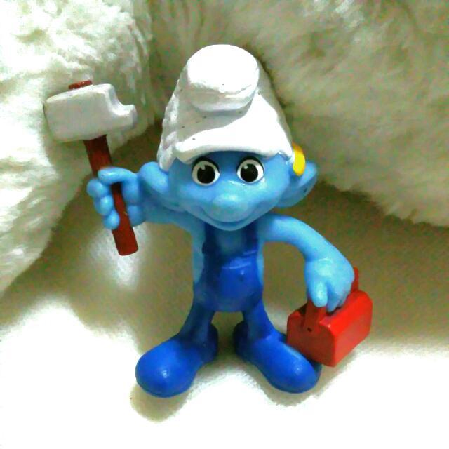 藍色小精靈公仔絕版