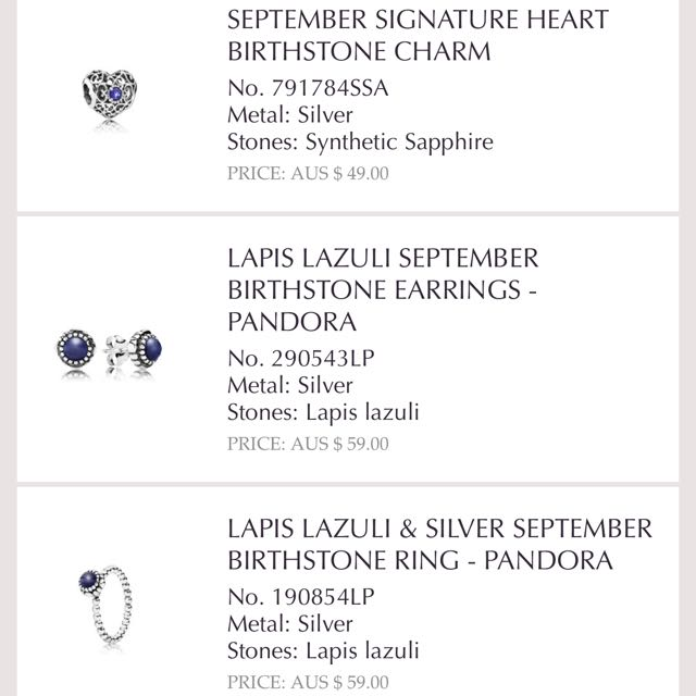 3a7f2c36d 17th Batch Is On Authentic Pandora September October November