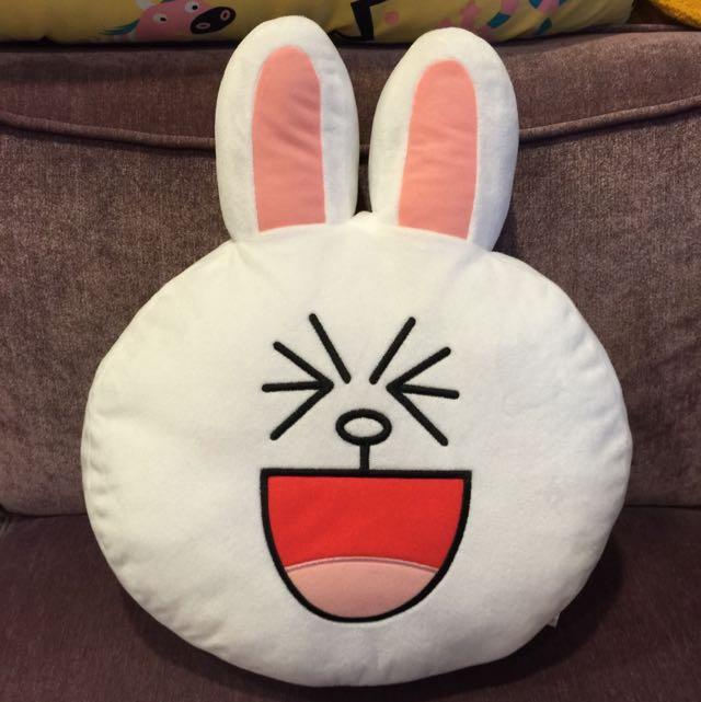 (保留中)Line 兔兔 🐰抱枕(含運)