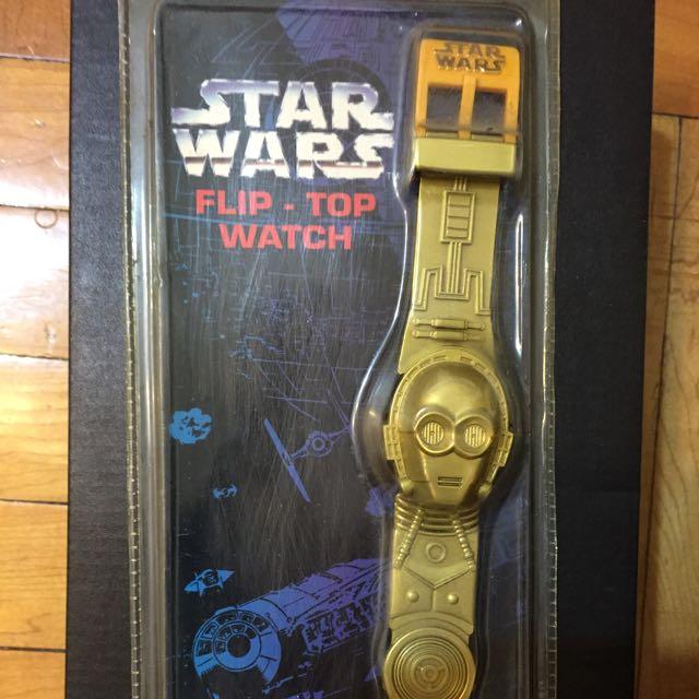 Star War 星際大戰紀念表1996年版(未開封)