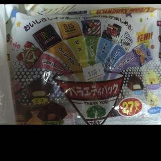 日本松尾繽紛巧克力小禮袋組