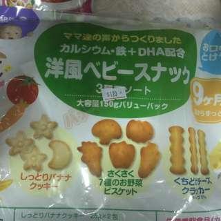 日本  寶寶 9個月餅乾