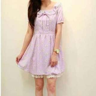 日系小雛菊洋裝
