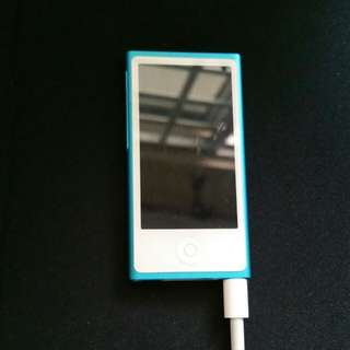 iPod Nano 7th Generation (Blue)