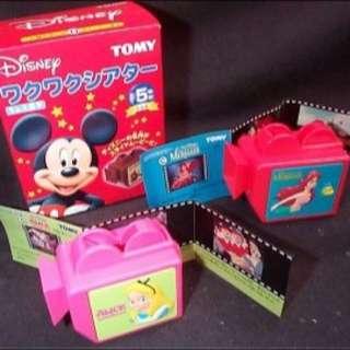 (更新/徵收狀況) 迪士尼 2002年 Tomy 絕版 盒玩  玩具總動員 米奇 投影機 2款都可 幻燈片