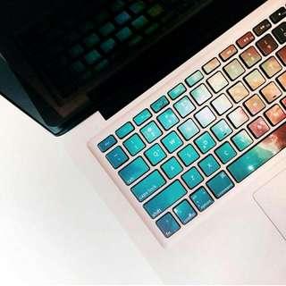 Macbook Keyboard Decals Stickers (50% Off)