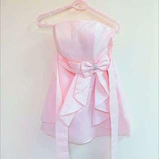 (二手)粉色小洋裝