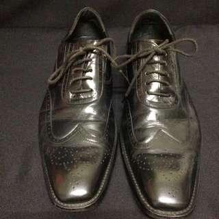 Grorge Shoe 雕花 牛津鞋 皮鞋 Us9