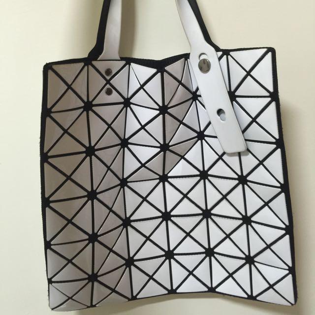 6*6 幾何包 黑白 7成新