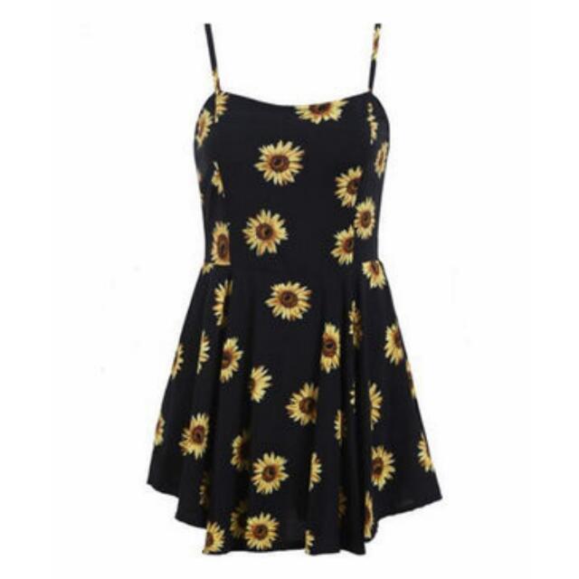🌼代購🌼超級可愛向日葵洋裝