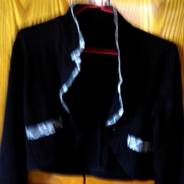 造型黑色小外套