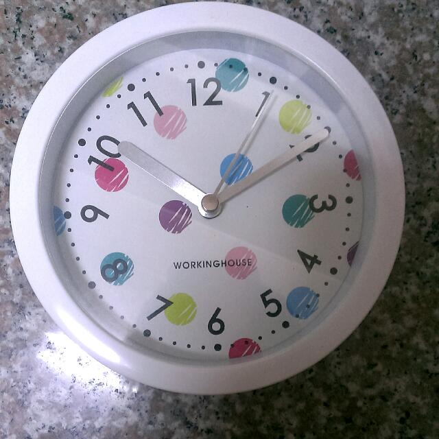 生活工廠小型時鐘