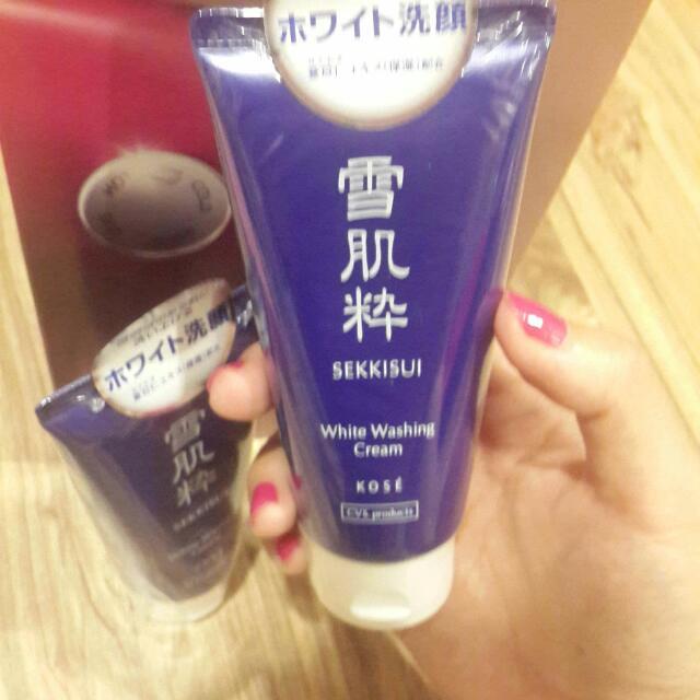 日本帶回雪肌粹洗面乳
