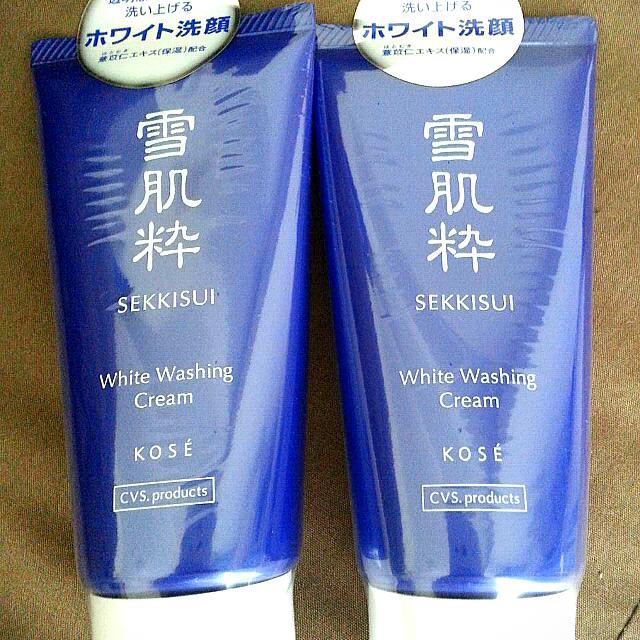 日本超人氣~雪肌粹洗面乳  (只有5條喔!!!)