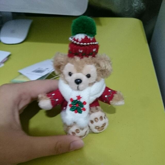 冬季限定 達菲熊吊飾
