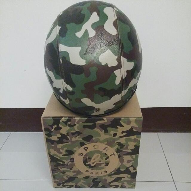 agnes b 迷彩安全帽 市售3580