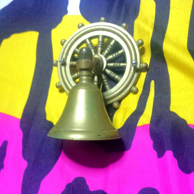 *price reduce*brass Bell Wall Decor